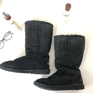 Ugg Black Classic Tall 5229 style size 5